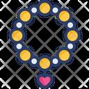 Bracelet Jewelry Mala Icon