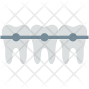 Braces Dental Brackets Icon
