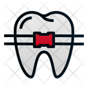 Braces Tooth Dental Icon