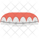 Lips Teeth Braces Icon