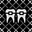 Braces Teeth Teeth Braces Icon
