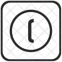 Bracket Left Math Icon