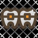 Bracket Tooyh Dentist Icon