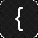 Keyboard Left Bracket Icon