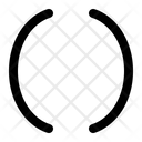 Bracket Brace Math Icon