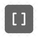 Brackets Math Code Icon