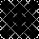 Braille Code Symbol Icon