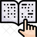 Network Communication Braille Icon