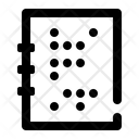Alphabet Braille Text Icon