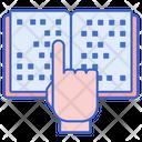 Braille Text Braille Book Braille Icon