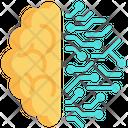 Brain Intelligence Technology Icon