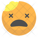 Brain Face Emotion Icon