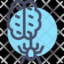 Brain Spider Horror Icon
