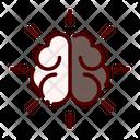 Brain Mind Knowledge Icon