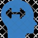 Brain Mind Crack Icon