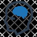 Brain Brainstorming Human Icon