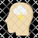 Brain Storm Idea Icon