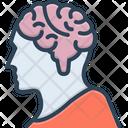 Brain Mind Brainstorm Icon