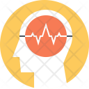 Brain Activity Thinking Icon
