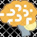 Brain Mind Body Part Icon