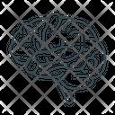 Brain Mind Organ Icon