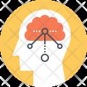 Brain Structure Diagram Icon