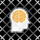 Brain Mind Medical Icon