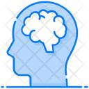 Brain Mind Human Head Icon