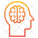 Brain Education Healthcare Icon