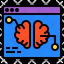 Website Brain Education Icon