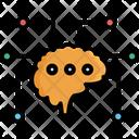 Brain Connectivity Memory Icon
