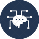 Brain Connectivity Memory Icon