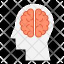 Brain Thinking Innovation Icon