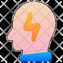 Brain Think Creative Icon