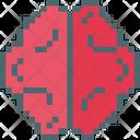 Brain Mind Science Icon