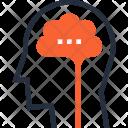 Brain Brainstorm Head Icon