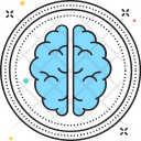 Brain Mind Intelligence Icon