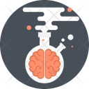 Brain Brainstorm Chemistry Icon