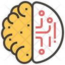 Brain Automation Artificial Icon