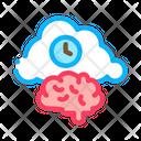 Brain Activity Icon