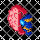 Machine Robot Brain Icon