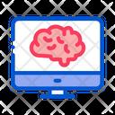 Brain Analysis Icon