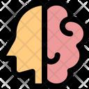 Brain And Head Brain Mind Icon