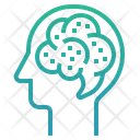 Brain atrophy Icon