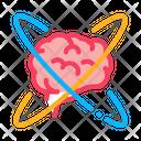 Brain Center Atom Icon