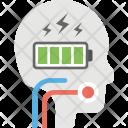 Brain Charging Active Icon