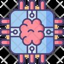 Brain Chip Chip Brain Icon