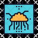 Brain Chip Core Icon