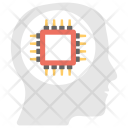 Brain Chip Icon