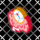 Brain Mind Compass Icon